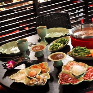 Authentische Gerichte aus Thailand im Restaurant White Elephant, Zürich