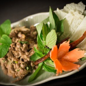 Thai Küche im Restaurant White Elephant, Zürich